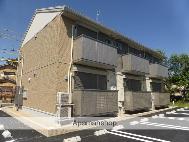 三重県津市、高田本山駅徒歩15分の新築 2階建の賃貸アパート