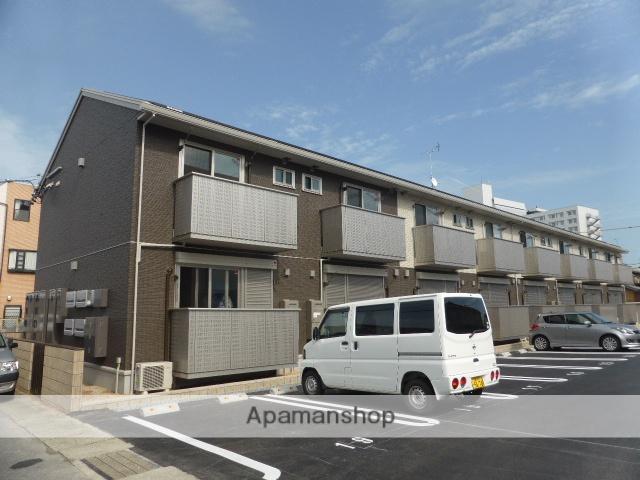 三重県津市、江戸橋駅徒歩9分の新築 2階建の賃貸アパート