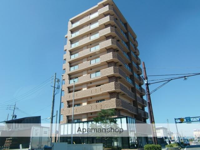三重県津市、江戸橋駅徒歩8分の新築 10階建の賃貸マンション
