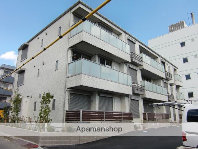 三重県津市、阿漕駅徒歩17分の新築 3階建の賃貸アパート
