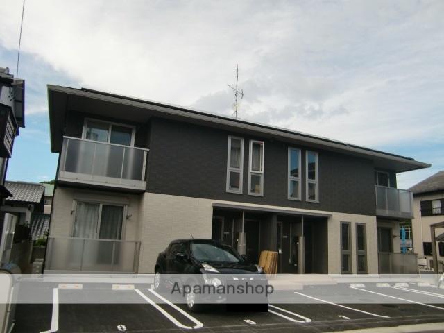 三重県津市、江戸橋駅徒歩16分の新築 2階建の賃貸アパート