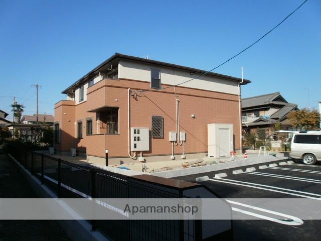 三重県桑名市、播磨駅徒歩12分の築1年 2階建の賃貸アパート