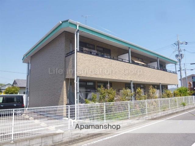 滋賀県湖南市、石部駅徒歩10分の築14年 2階建の賃貸アパート