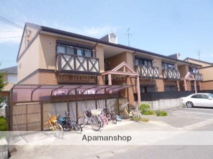 滋賀県甲賀市、甲南駅徒歩16分の築24年 2階建の賃貸アパート