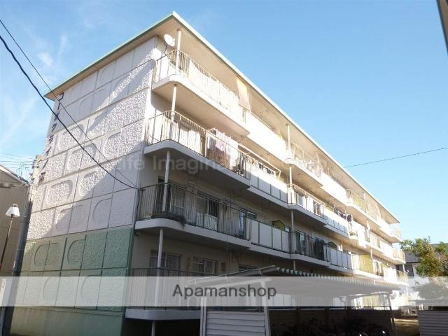 滋賀県湖南市、石部駅徒歩14分の築35年 4階建の賃貸マンション