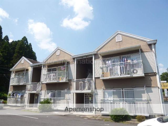 滋賀県甲賀市、貴生川駅JRバスバス15分松原町下車後徒歩6分の築25年 2階建の賃貸アパート