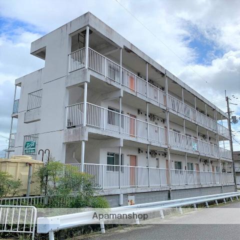 滋賀県甲賀市、甲南駅徒歩38分の築28年 3階建の賃貸マンション
