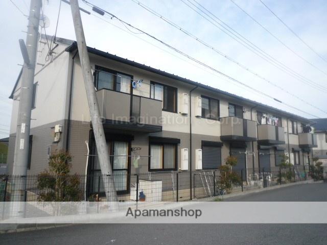 滋賀県湖南市、三雲駅JRバスバス15分中山口下車後徒歩9分の築18年 2階建の賃貸アパート