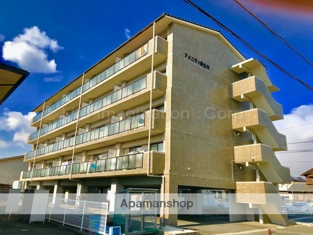 滋賀県甲賀市、貴生川駅徒歩7分の築20年 5階建の賃貸マンション