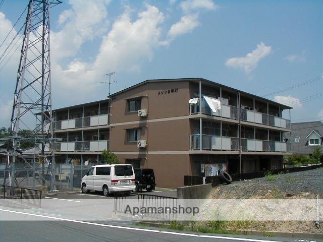 滋賀県甲賀市、貴生川駅はーとバスバス11分古城が丘下車後徒歩5分の築27年 3階建の賃貸マンション