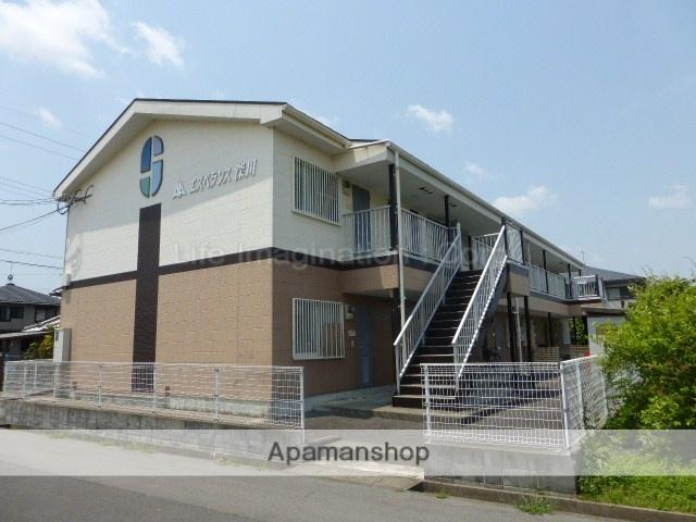 滋賀県甲賀市、甲南駅徒歩9分の築18年 2階建の賃貸アパート