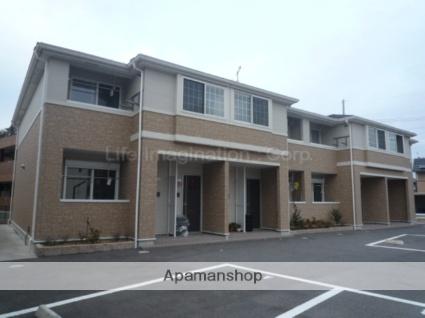滋賀県愛知郡愛荘町、愛知川駅徒歩20分の築8年 2階建の賃貸アパート