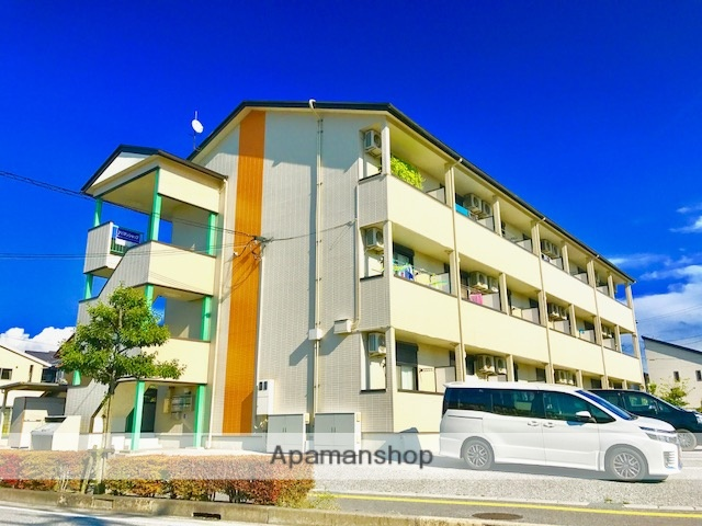 滋賀県彦根市、河瀬駅徒歩7分の築16年 3階建の賃貸アパート
