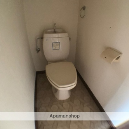 滋賀県蒲生郡日野町松尾4丁目[1K/22.68m2]のトイレ