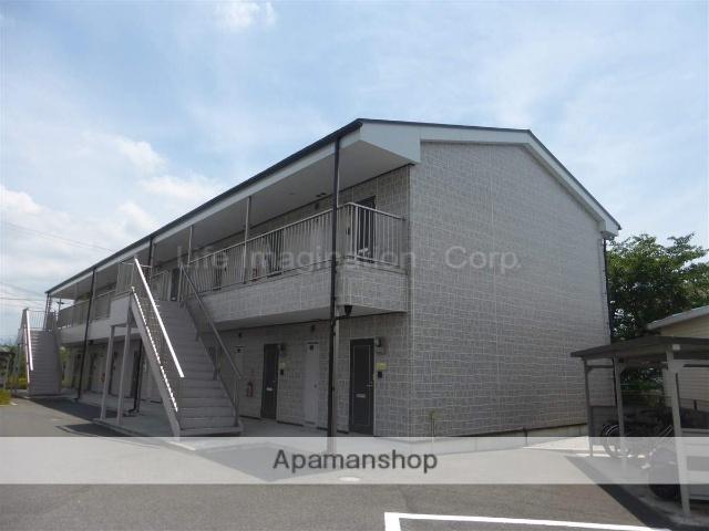 滋賀県愛知郡愛荘町、稲枝駅徒歩50分の築10年 2階建の賃貸アパート