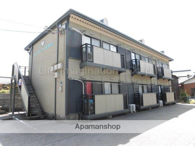 滋賀県彦根市、米原駅徒歩60分の築23年 2階建の賃貸アパート