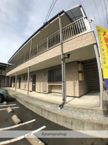 滋賀県彦根市、フジテック前駅徒歩21分の築7年 2階建の賃貸アパート