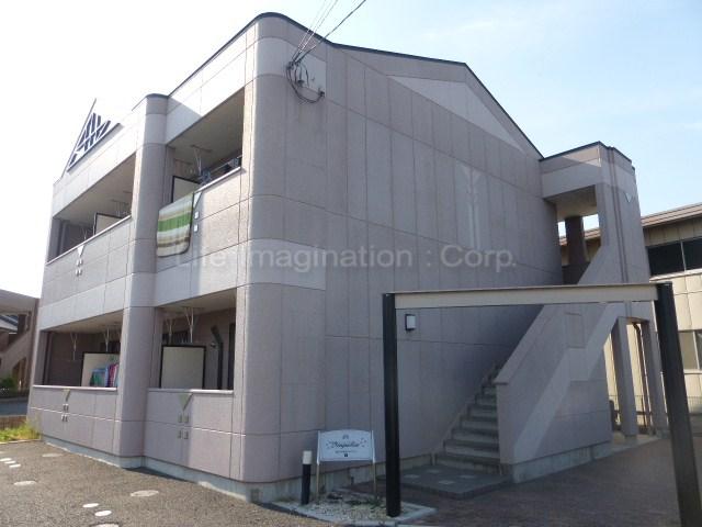 滋賀県愛知郡愛荘町、能登川駅徒歩60分の築10年 2階建の賃貸マンション