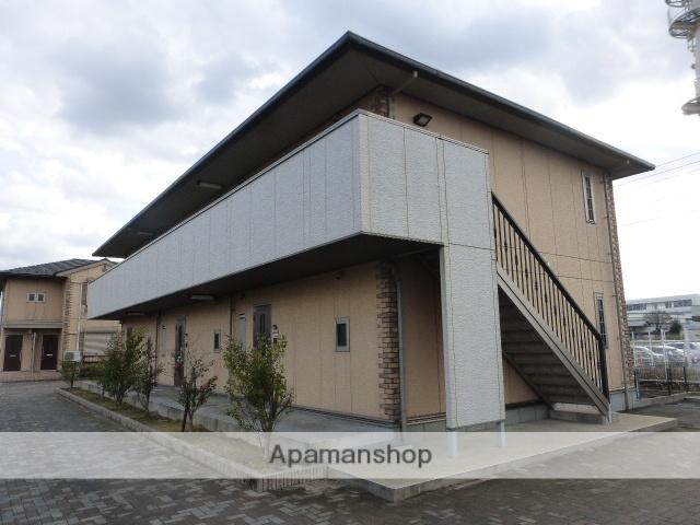 滋賀県東近江市、河辺の森駅徒歩57分の築10年 2階建の賃貸アパート