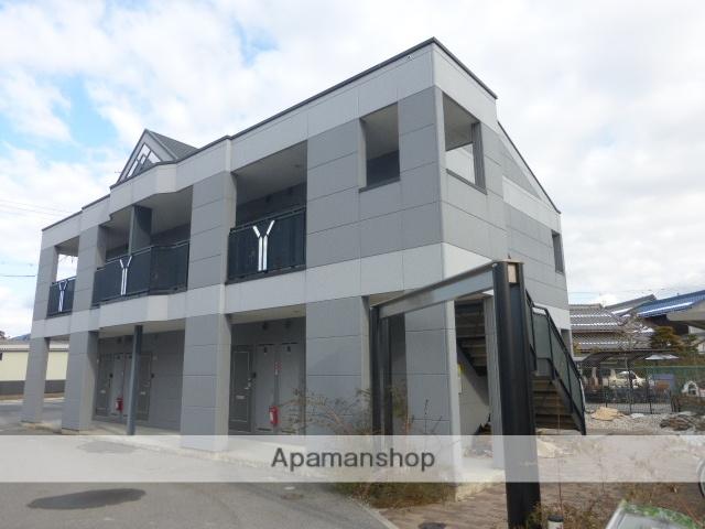 滋賀県愛知郡愛荘町、能登川駅徒歩73分の築8年 2階建の賃貸アパート