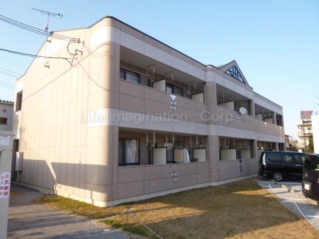 滋賀県彦根市、彦根駅徒歩12分の築13年 2階建の賃貸マンション