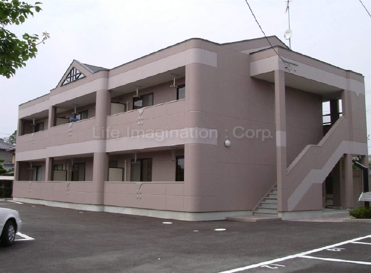 滋賀県愛知郡愛荘町、愛知川駅徒歩20分の築12年 2階建の賃貸アパート