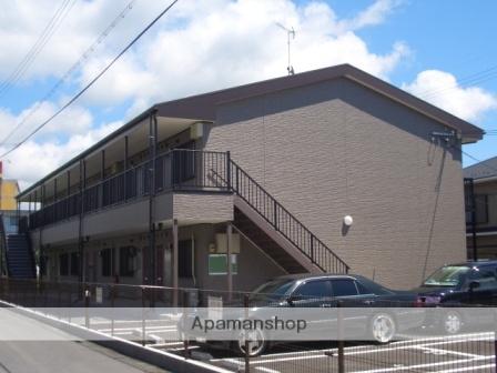 滋賀県東近江市、八日市駅近江バスバス15分中小路町停下車後徒歩4分の築9年 2階建の賃貸アパート