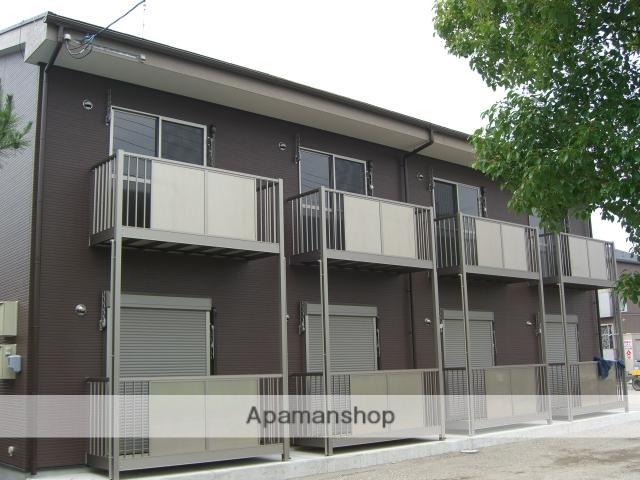 滋賀県東近江市、五箇荘駅ちょこっとバスバス13分石塚口下車後徒歩4分の築10年 2階建の賃貸アパート
