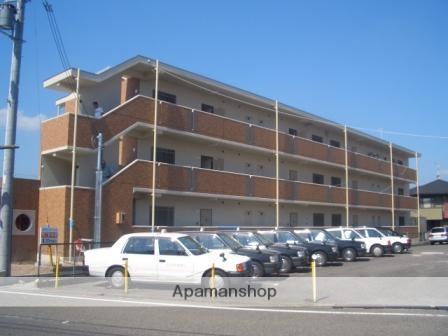 滋賀県東近江市、八日市駅徒歩10分の築9年 3階建の賃貸マンション