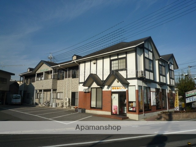 滋賀県東近江市、能登川駅徒歩134分の築25年 2階建の賃貸アパート