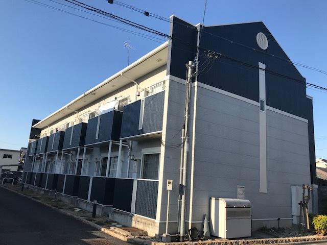 滋賀県近江八幡市、近江八幡駅徒歩15分の築12年 2階建の賃貸アパート