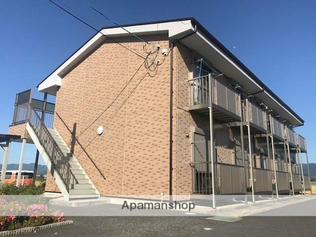 滋賀県愛知郡愛荘町、稲枝駅徒歩67分の築10年 2階建の賃貸アパート