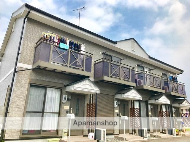 滋賀県東近江市、五箇荘駅徒歩27分の築15年 2階建の賃貸テラスハウス