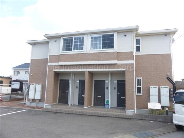 滋賀県東近江市、京セラ前駅徒歩26分の築8年 2階建の賃貸マンション
