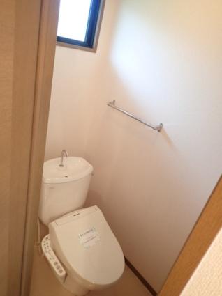 滋賀県大津市山上町[1K/26.8m2]のトイレ