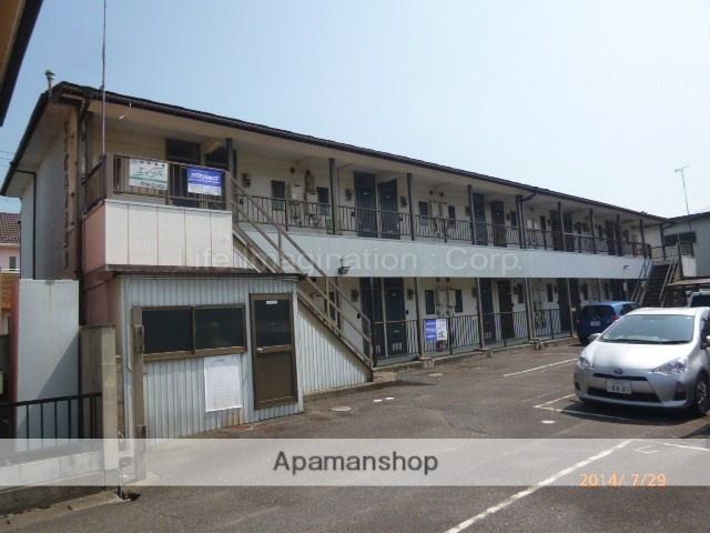 滋賀県東近江市、八日市駅近江バス20分沖野下車後徒歩5分の築26年 2階建の賃貸アパート