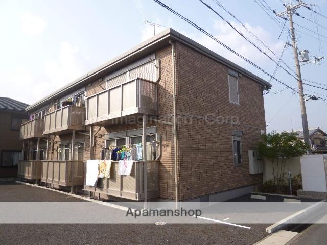 滋賀県甲賀市、甲南駅徒歩8分の築8年 2階建の賃貸アパート