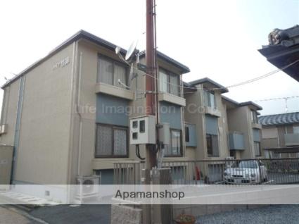 滋賀県東近江市、八日市駅徒歩12分の築31年 2階建の賃貸アパート