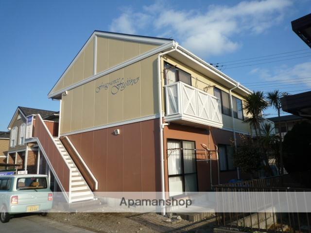 滋賀県愛知郡愛荘町、豊郷駅徒歩45分の築23年 2階建の賃貸アパート
