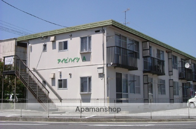 滋賀県東近江市、能登川駅徒歩150分の築31年 2階建の賃貸アパート