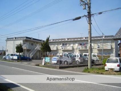滋賀県愛知郡愛荘町、能登川駅徒歩62分の築26年 2階建の賃貸アパート