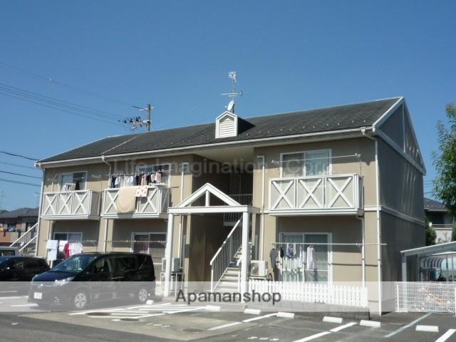 滋賀県東近江市、河辺の森駅徒歩75分の築24年 2階建の賃貸アパート