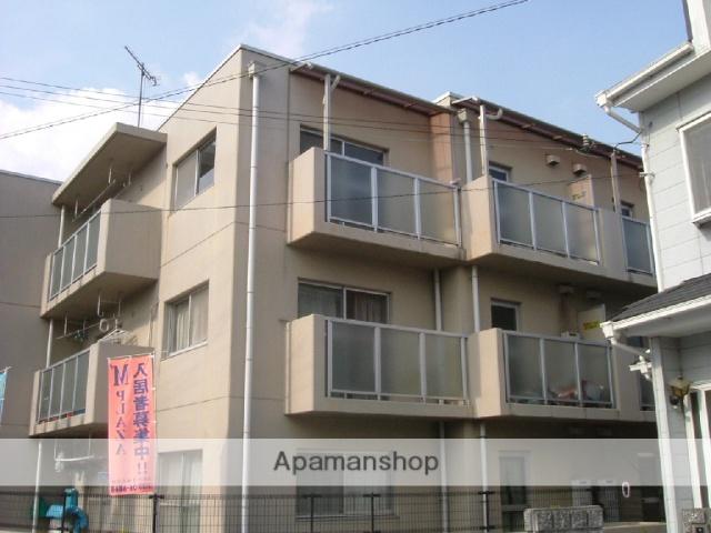 滋賀県東近江市、八日市駅徒歩4分の築25年 3階建の賃貸マンション