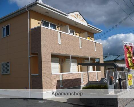 滋賀県東近江市、八日市駅バス20分五智前下車後徒歩2分の築12年 2階建の賃貸アパート