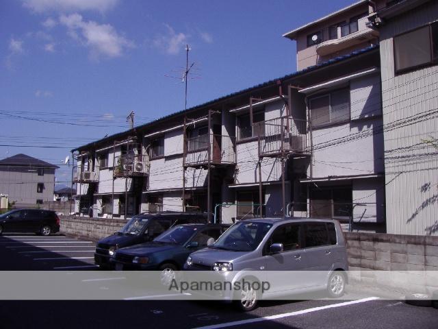 滋賀県野洲市、野洲駅徒歩8分の築41年 2階建の賃貸アパート