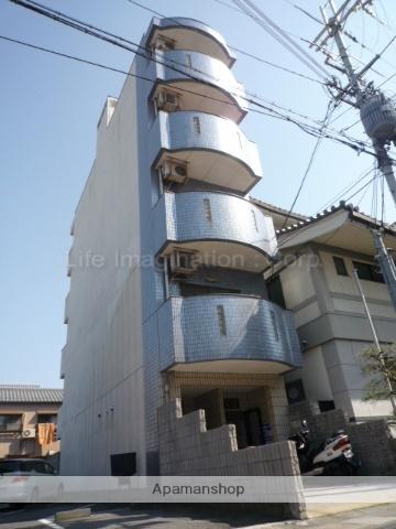 滋賀県大津市、膳所駅徒歩25分の築26年 5階建の賃貸マンション