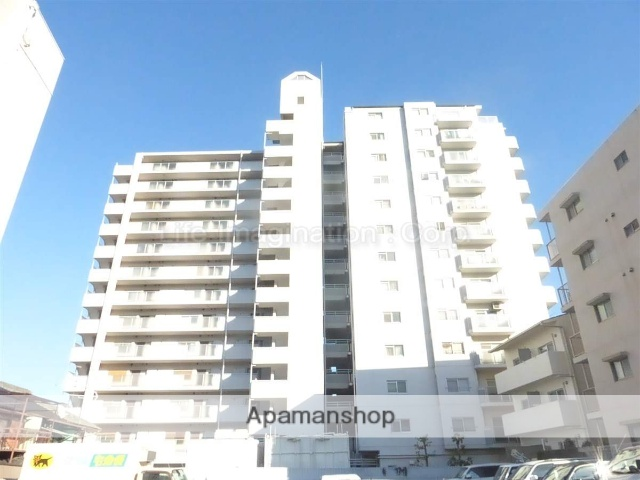 滋賀県大津市、大津駅徒歩14分の築28年 13階建の賃貸マンション
