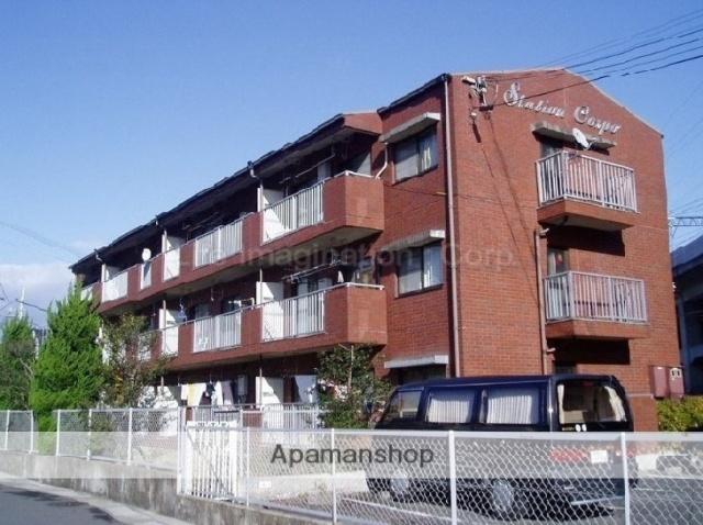 滋賀県大津市、大津京駅徒歩3分の築30年 3階建の賃貸マンション