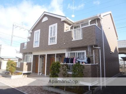 滋賀県大津市、堅田駅徒歩54分の築11年 2階建の賃貸アパート