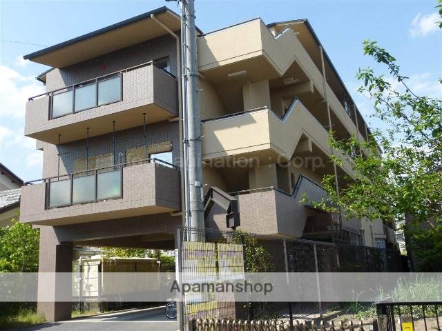 滋賀県大津市、比叡山坂本駅徒歩7分の築23年 4階建の賃貸マンション